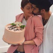 """Zayn Malik comemora os 22 anos de Gigi Hadid com homagem: """"Feliz aniversário para o meu tudo"""""""