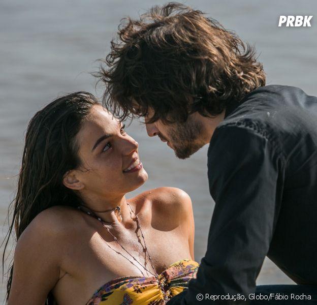 """Novela """"A Força do Querer"""": o que todo mundo ama em Ritinha (Isis Valverde) e Ruy (Fiuk)!"""