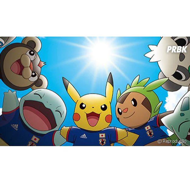 Lista de Pokémon quem podem ajudar a seleção japonesa a chegar nas finas da Copa do Mundo 2014