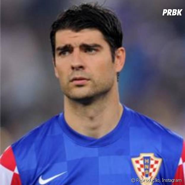 Verdran Corluka joga pela Croácia, a primeira adversária do Brasil na Copa do Mundo
