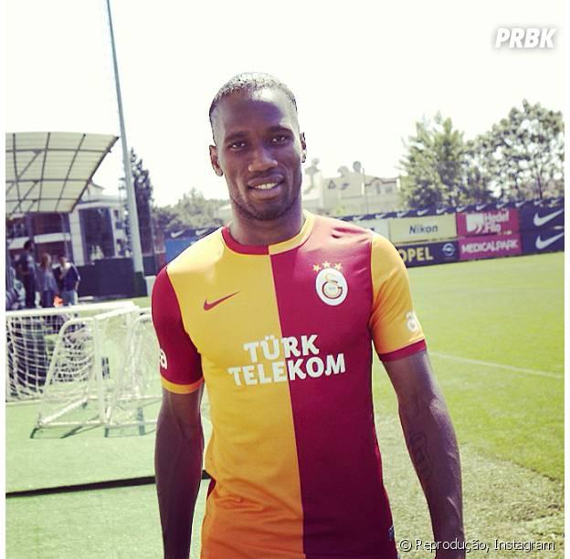 Didier Drogba é a estrela da Costa do Marfim