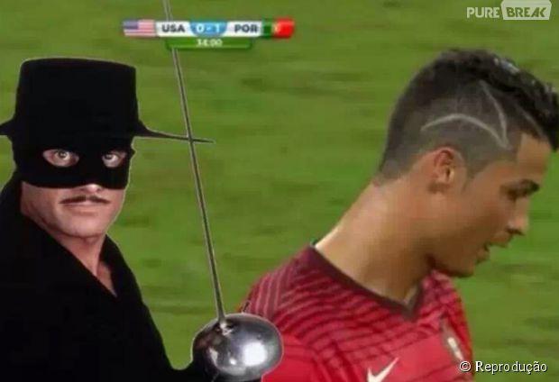 Agora tá explicado.. só podia ser coisa do Zorro!
