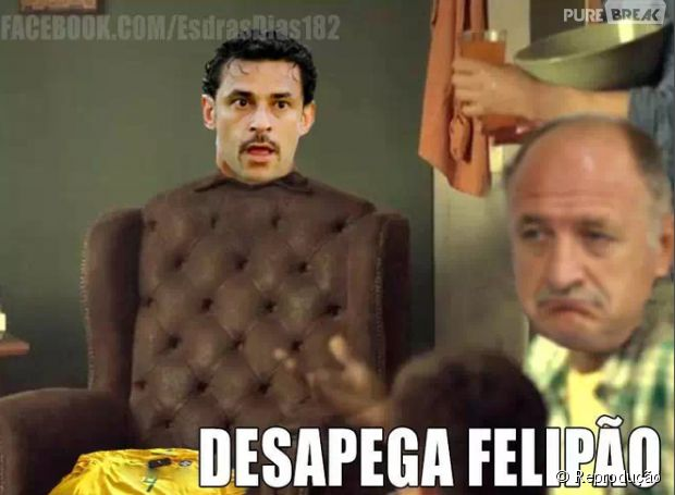 Desapega do Fred Felipão!