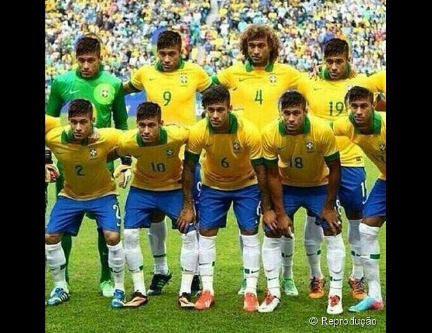 E a seleção do Brasil pro Galvão é só Neymar!