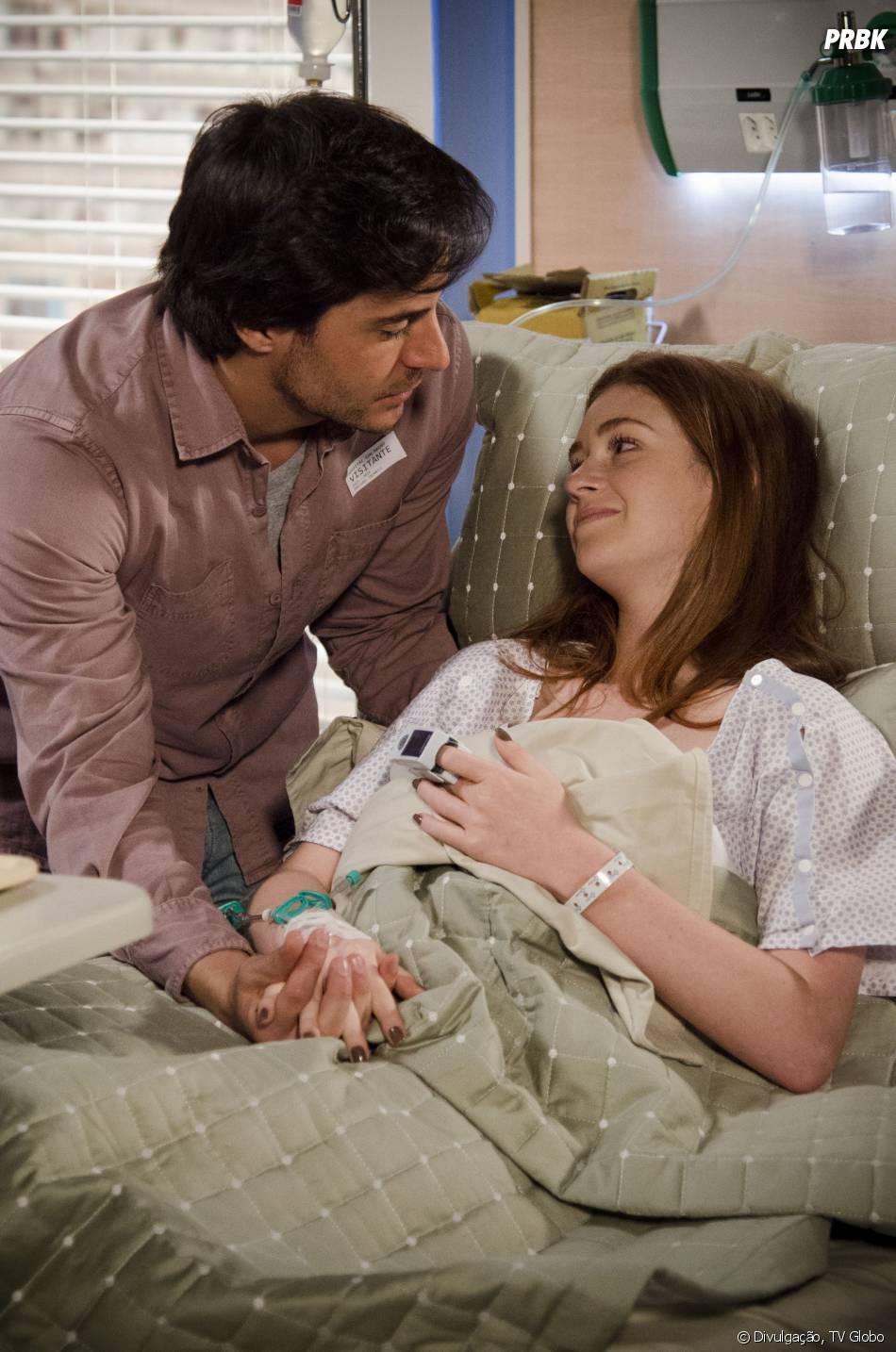 """Thales (Ricardo Tozzi)conviveu com Nicole (Marina Ruy Barbosa)enquanto ela ainda estava viva em""""Amor à Vida"""""""