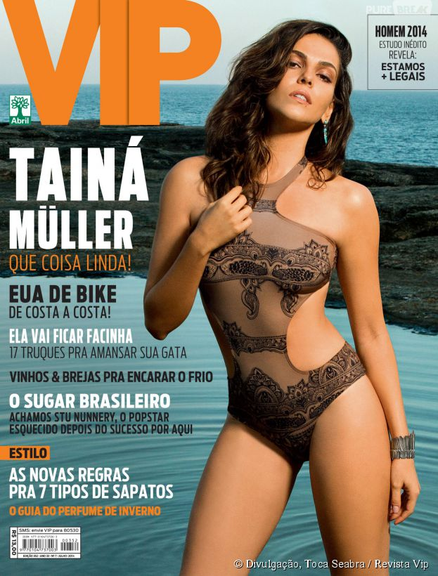 "Tainá Müller posa sexy para capa de revista e recebe elogio: ""Coisa mais linda!"""