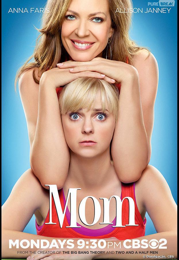 """""""Mom"""", com Anna Faris, foi garantida até o fim da temporada!"""