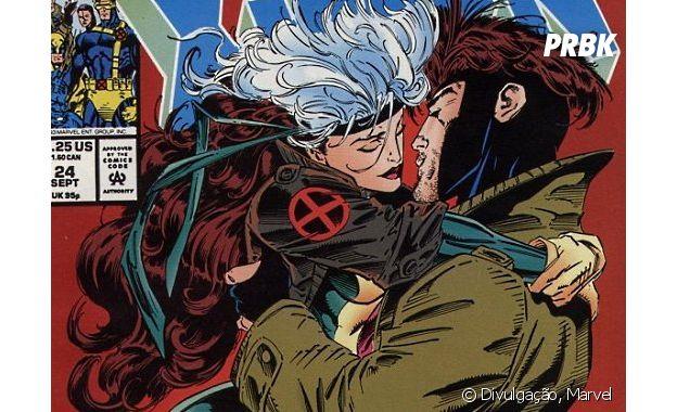 Sem dúvidas Vampira e Gambit têm uma química destruidora
