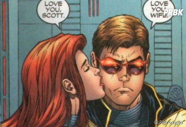 Jean Grey e Ciclope são um casal mágico e muito poderoso