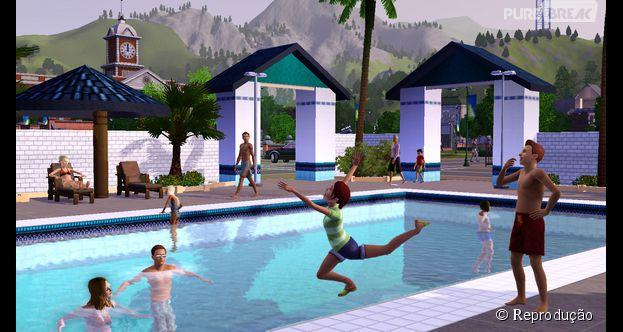 Game the sims 4 tira a constru o de piscina ic nicas e for Piscina sims 4