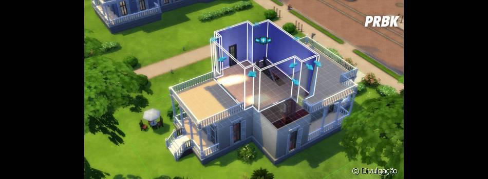 """Ferramentas de construção de casas é aprimorado em """"The Sims 4""""."""