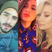 """Maluma e Iggy Azaela farão nova versão de """"Switch"""" e Anitta manda suposta indireta no Twitter!"""