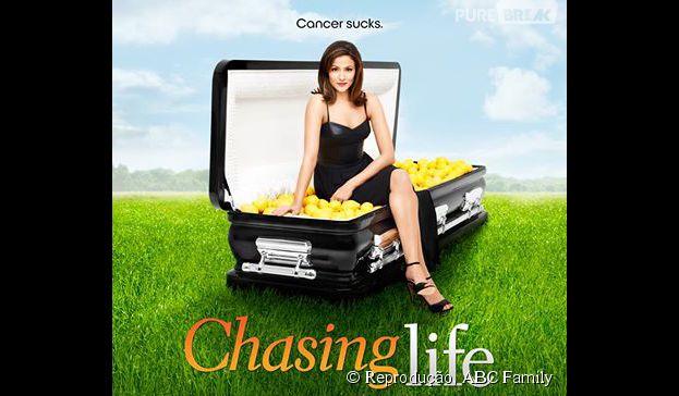 """""""Chasing Life"""" conta a história deApril (Italia Ricci) e sua luta por uma vida normal"""