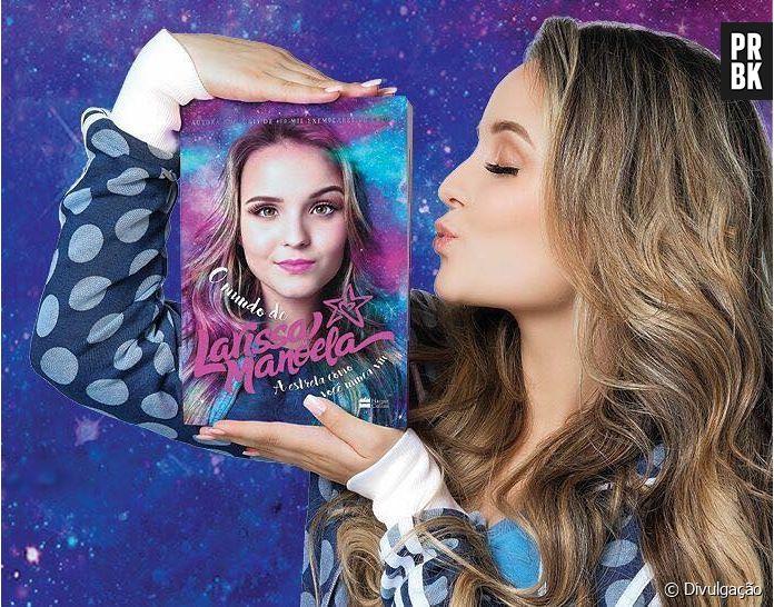 3a519e6f4bea1 Larissa Manoela atinge marca impressionante com vendas de seu segundo  livro! - Purebreak