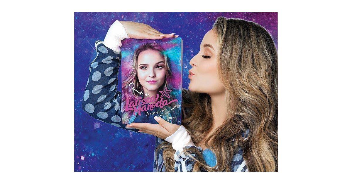 eadf10575bd01 Larissa Manoela atinge marca impressionante com vendas de seu segundo  livro! - Purebreak