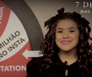 """Maisa Silva na divulgação do novo filme de terror """"7 Desejos"""""""