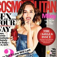 Miley Cyrus aparece linda na capa da Cosmopolitan e fala sobre casamento durante entrevista!