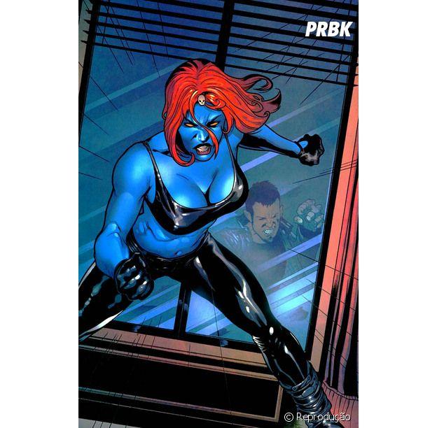 Mística, do X-Men, merecia um filme só dela, né?