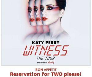 Ingressos para a turnê de Katy Perry entram em promoção!