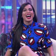 """Anitta participa do """"Ferdinando Show"""" e fala sobre a vida de solteira: """"Não faço a linha difícil"""""""