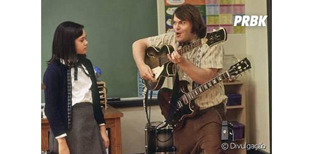 """Jack Black estrela """"Escola de Rock"""""""