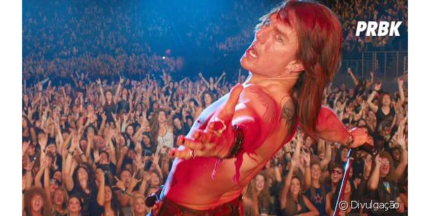 "Tom Cruise em ""Rock of Ages"""