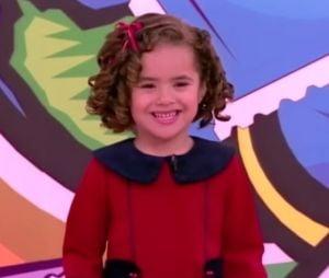 Maisa Silva, sempre muito sincera, brincou porque o menino escolheu a bexiga rosa
