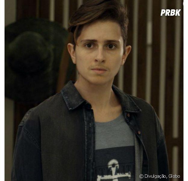 """Em """"A Força do Querer"""": Ivan (Carol Duarte) aparece de barba e choca Joyce (Maria Fernanda Cândido)"""