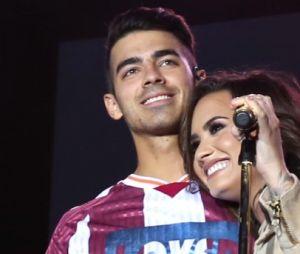 """Demi Lovato e Joe Jonas eram o casal no primeiro filme de """"Camp Rock"""". No entanto, já não estavam mais juntos na sequência"""