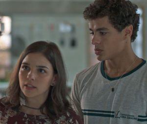 """Em """"Malhação"""": Tato (Matheus Abreu) volta a morar com Keyla (Gabriela Medvedovski)"""