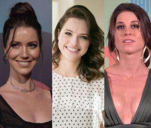 """Nathalia Dill, Agatha Moreira e Chandelly Braz serão irmãs na novela """"Orgulho e Paixão"""""""