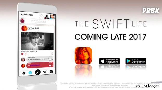 Taylor Swift lançará aplicativo para competir com Facebook