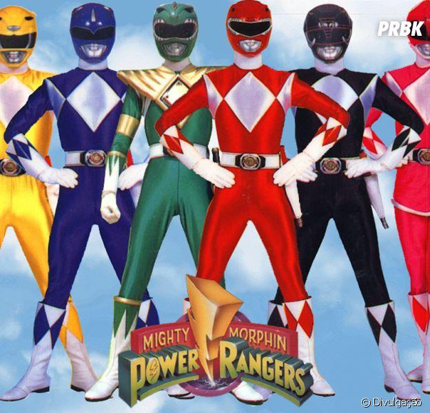 """""""Power Rangers"""" vão ganhar filme feito por produtora de """"Jogos Vorazes"""""""