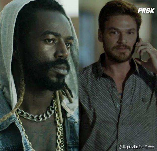 """Em """"A Força do Querer"""", Rubinho (Emílio Dantas) e Sabiá (Jonathan Azevedo) serão assassinados por Jeiza (Paolla Oliveira)"""