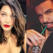 Bella Hadid e Drake estariam namorando há 4 meses, segundo revista!