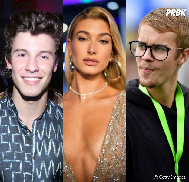 Shawn Mendes está com Hailey Baldwin, ex-namorada de Justin Bieber, de acordo com revista!