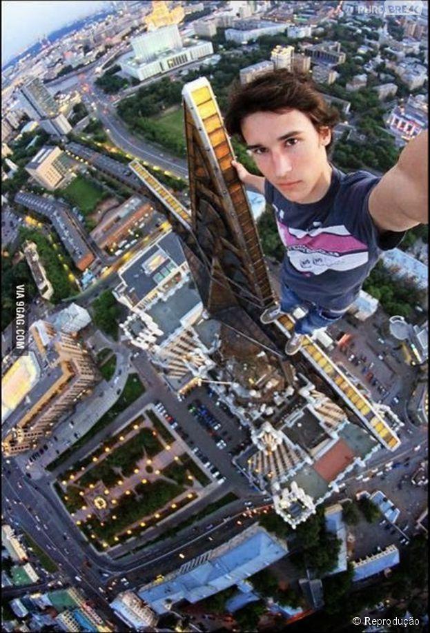 Teria coragem de tirar uma selfie a essa altura?
