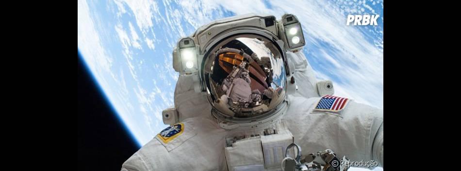 Selfie no espaço!