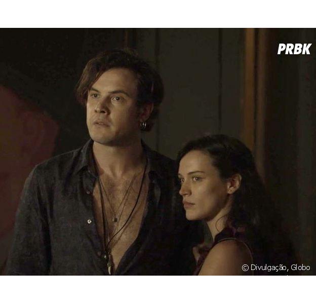 """Em """"O Outro Lado do Paraíso"""", Clara (Bianca Bin) denuncia Gael (Sergio Guizé)"""