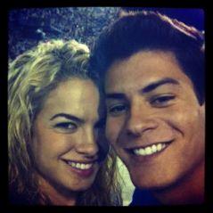 """Arthur Aguiar e Lua Blanco se encontram durante evento e fãs de """"Rebelde"""" piram na internet!"""