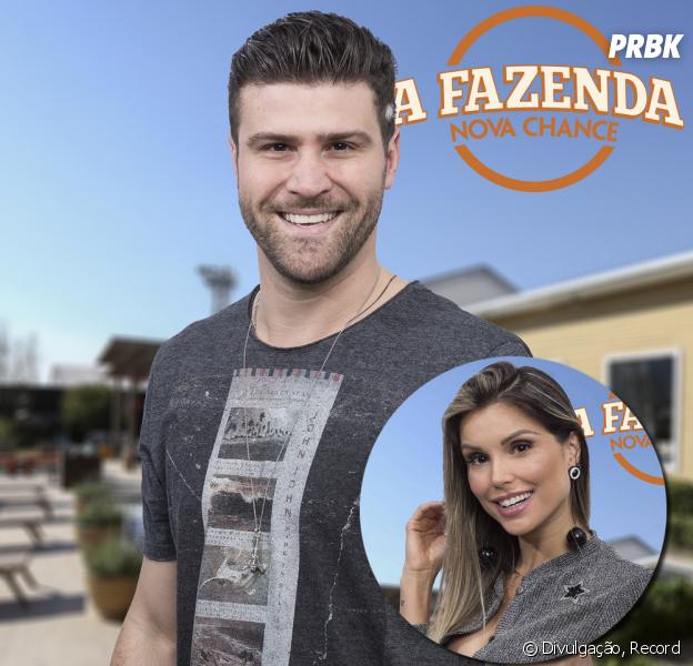 """Marcelo Ié Ié, de """"A Fazenda"""", participa do """"Hoje em Dia"""" após ser eliminado e ganha recado fofo de Flávia Viana!"""