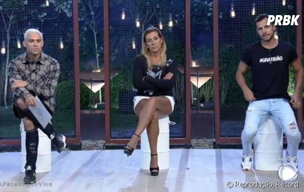 """Matheus se livrou da roça em """"A Fazenda"""" e, agora, Rita e Yuri disputam os votos do público!"""