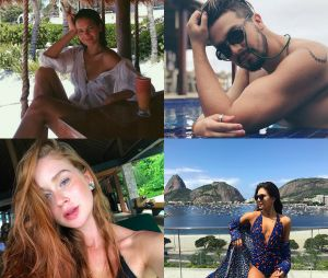 Veja os famosos que estão aproveitando o Verão!