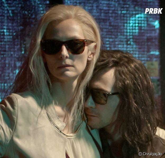 """Tom Hiddleston e Tilda Swinton vivem um casal de vampiros em """"""""mantes Eternos"""""""