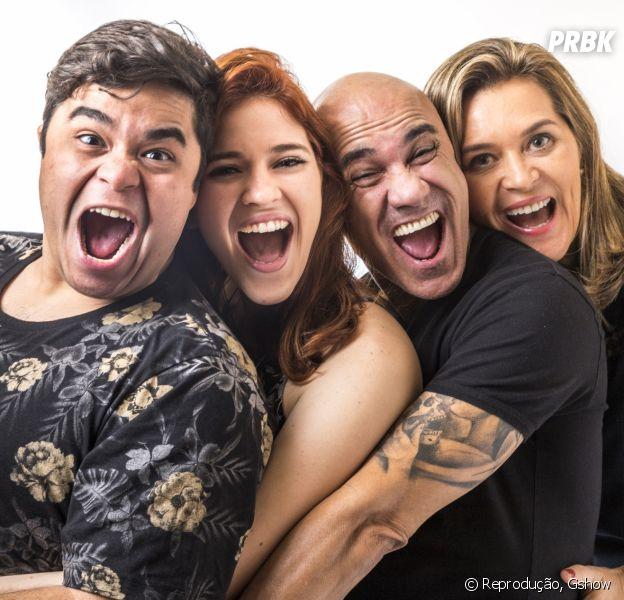 """A família Lima, do """"BBB18"""", é formada por Ayrton, Eva, Ana Clara e Jorge"""
