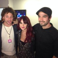 "Encontro ""Rebelde"": Dulce Maria, Christopher Uckermann e Alfonso Herrera na MTV"
