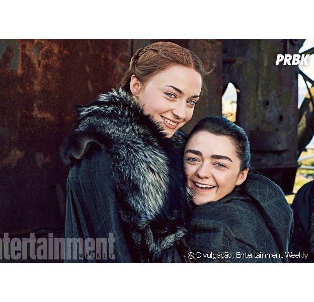 """De """"Game of Thrones"""": Maisie Williams será madrinha do casamento de Sophie Turner"""