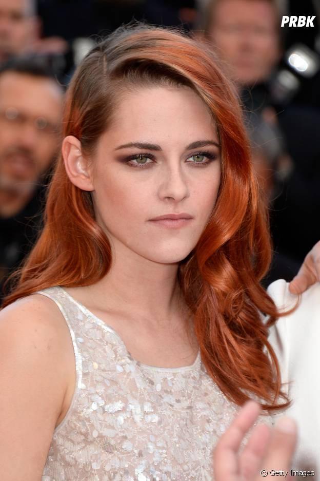 Kristen Stewart fica linda ruiva!