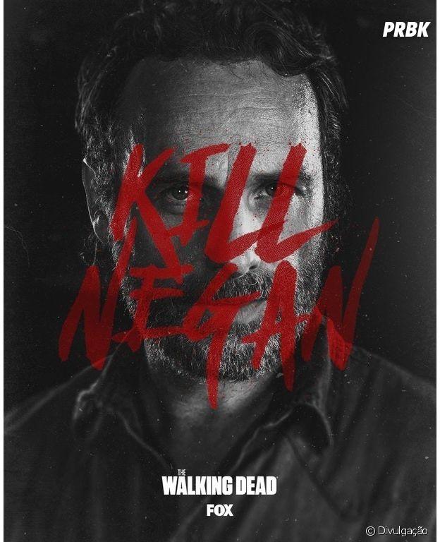 """Em """"The Walking Dead"""", novo pôster revela objetivo de Rick (Andrew Lincoln)"""