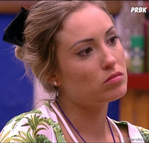 """No """"BBB18"""": Jessica se irrita com Lucas e diz para ele sair da casa!"""
